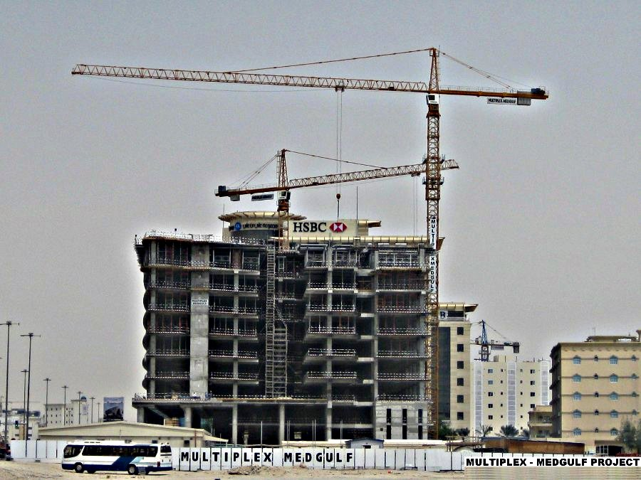 Tower crane qatar : Stephan trading contracting w l